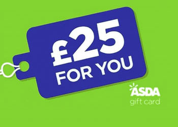 Win £25 ASDA Gift Card