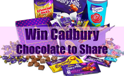 Win Cadbury Chocolate to Share