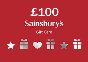 Win £100 Sainsburys Gift Card